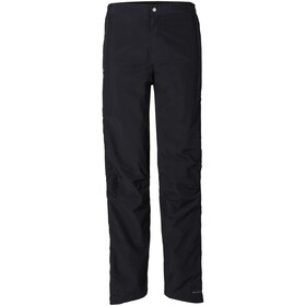 VAUDE Yaras II Rain zip Pants Men black